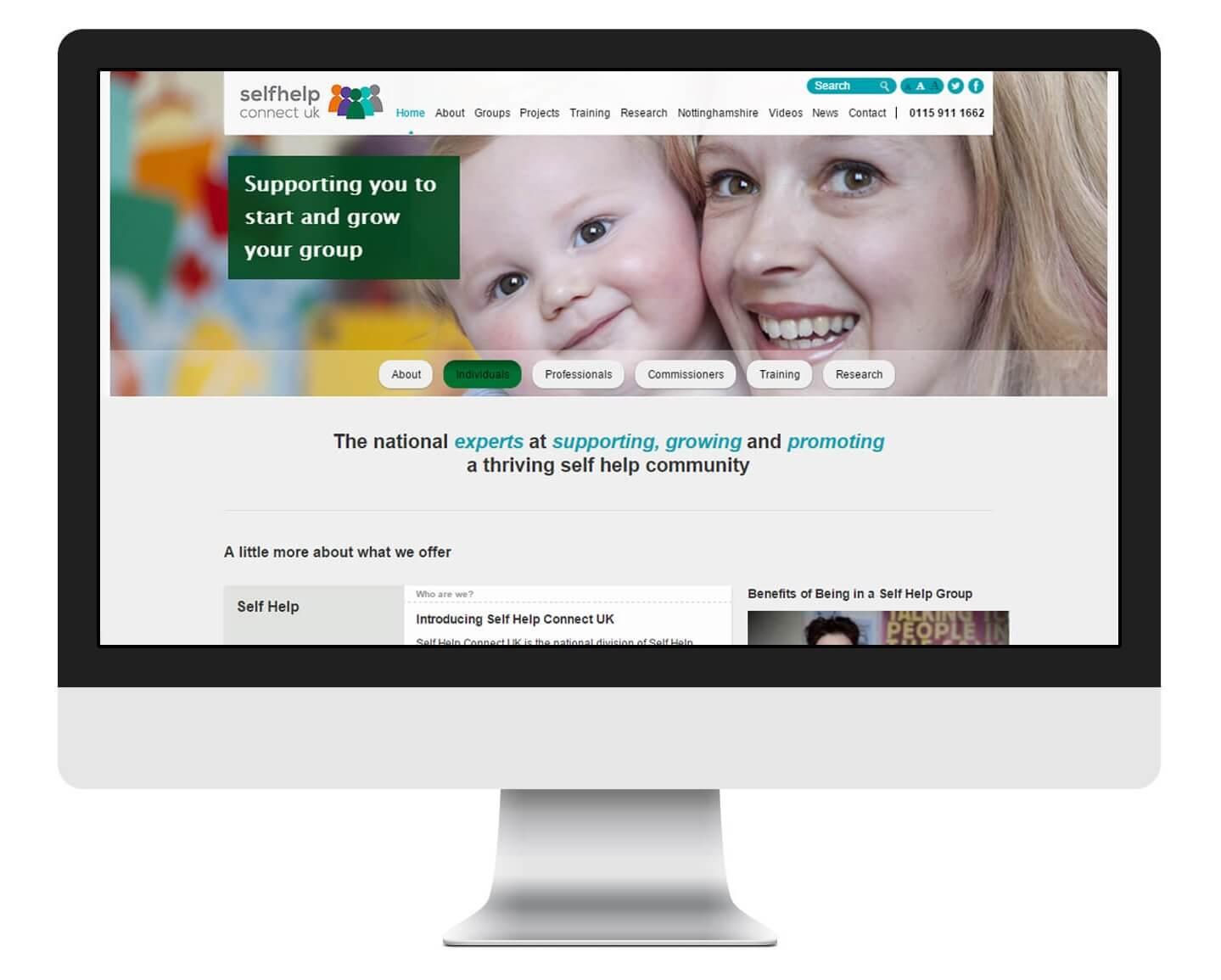 Self Help Nottingham Website